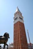 Turism i Venedig Fotografering för Bildbyråer