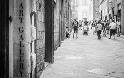 Turism in Italy Royalty Free Stock Image