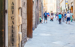 Turism in Italy Royalty Free Stock Images