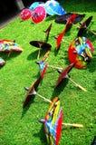 Bo sjöng paraplyfestival Royaltyfria Bilder