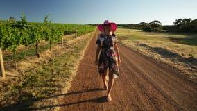Turismo Australia del oeste del viñedo metrajes