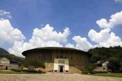 Turismo cinese della terra di hakka del Fujian fotografia stock libera da diritti