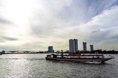 Turismo de Asiatique de Bangkok en las compras fotografía de archivo