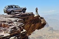 Turismo de la aventura. Lugar del destino Imagen de archivo libre de regalías
