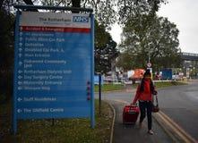 Turismo de la salud de NHS Fotos de archivo