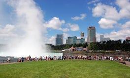 Turismo de Niagara Falls Foto de archivo libre de regalías