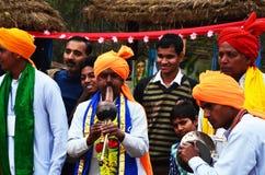 Turismo de SurajKund Faridabad, budh de Goutam, estátua, turismo, lugar do turista, turismo indiano, turismo de Haryana Imagens de Stock Royalty Free