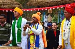 Turismo de SurajKund Faridabad, budh de Goutam, estátua, turismo, lugar do turista, turismo indiano, turismo de Haryana Foto de Stock