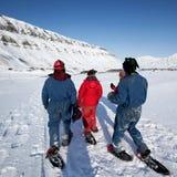 Turismo de Svalbard Imagenes de archivo