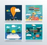 Turismo del aire y concepto del World Travel Imágenes de archivo libres de regalías