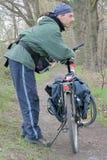 Turismo del ciclo   Immagine Stock
