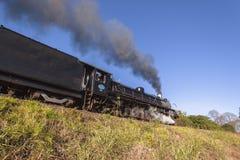 Turismo del treno a vapore Fotografie Stock