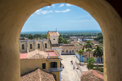 Turismo di Cuba: Trinidad de Cuba in Sancti Spiritus Fotografia Stock Libera da Diritti
