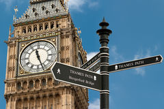 Turismo di Londra Fotografie Stock Libere da Diritti