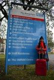 Turismo di salute di NHS Immagine Stock Libera da Diritti