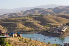 Turismo do lago Galidra imagem de stock