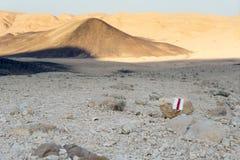 Turismo e curso da natureza da paisagem do deserto Fotos de Stock
