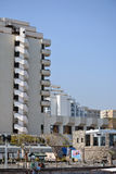 Turismo e hotéis em Tiberias Foto de Stock