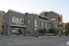 Turismo e hotéis em Tiberias Imagem de Stock Royalty Free
