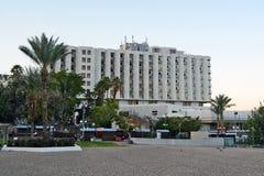Turismo e hotéis em Tiberias Imagem de Stock