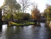 Turismo em Bruges. fotografia de stock