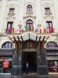 Turismo em Lima, a capital do Peru imagem de stock