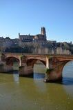 Turismo en Albi Imagen de archivo