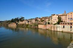 Turismo en Albi Imágenes de archivo libres de regalías
