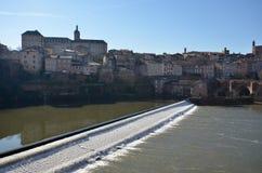 Turismo en Albi Imagenes de archivo