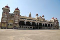 Turismo en el palacio de Mysore Fotos de archivo libres de regalías