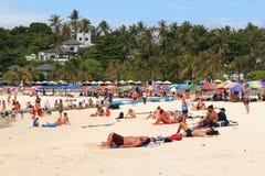 Turismo en la isla de Raya Imagen de archivo libre de regalías