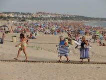 Turismo en las playas imagen de archivo libre de regalías
