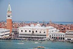 Turismo en Venecia Fotos de archivo libres de regalías