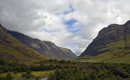 Turismo escocês Glencoe Fotografia de Stock Royalty Free