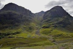 Turismo escocês Glencoe Imagens de Stock Royalty Free