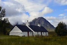 Turismo Glencoe de Escócia Imagens de Stock Royalty Free