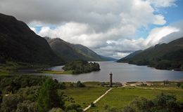 Turismo Glenfinnan de Escócia Imagens de Stock Royalty Free