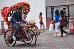 Turismo in Malesia Fotografia Stock Libera da Diritti