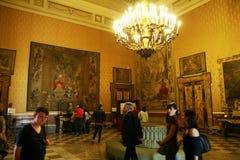 Turismo a Napoli Fotografia Stock Libera da Diritti