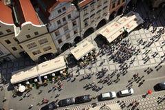 Turismo a Praga Fotografia Stock