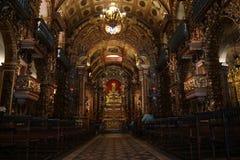 Turismo religioso in Rio de Janeiro Downtown Immagini Stock