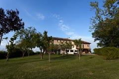 Turismo rural em Véneto, Italy imagens de stock