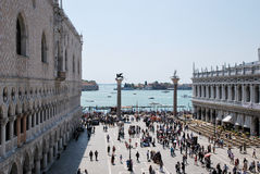 Turismo a Venezia Immagini Stock Libere da Diritti