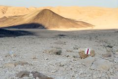 Turismo y viaje de la naturaleza del paisaje del desierto Fotos de archivo