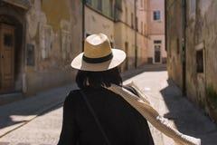 Turist Arkivfoton