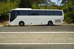 Turist- buss Royaltyfri Fotografi