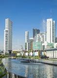 Turist- byggnader av staden av Guadalajara Arkivbilder