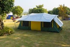 Turist- campa för tält Arkivbilder