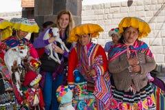 Turist- fällor av Cusco Peru Fotografering för Bildbyråer