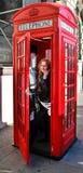 Turist i London Royaltyfri Fotografi